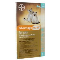 Advantage Multi for Cats 2-5lbs 3 pack