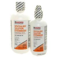 Akorn Animal Health Ophthalmic Solution Eyewash