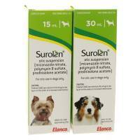 Surolan Otic combination medication for skin and ear conditions in pets