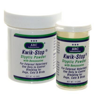 5d20639848ad Kwik-Stop with Benzocaine for Dogs and Cats - Nail Bleeding ...