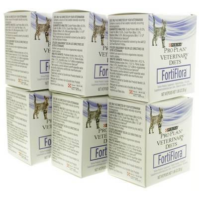 FortiFlora for Cats, 6 Boxes