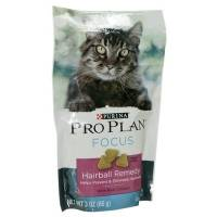 Pro Plan Focus Hairball Remedy Treats for Cats