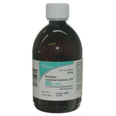 lactulose syrup: lactulose for cats - laxative - vetrxdirect, Skeleton
