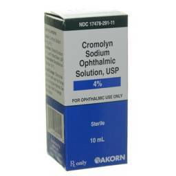 Cromolyn Sodium Eye Drops for Conjunctivitis in Dogs and Cats