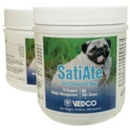 SatiAte Weight Management Support Soft Chews for Dogs