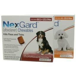 NexGard Chewables for Dogs Kill Fleas and Ticks