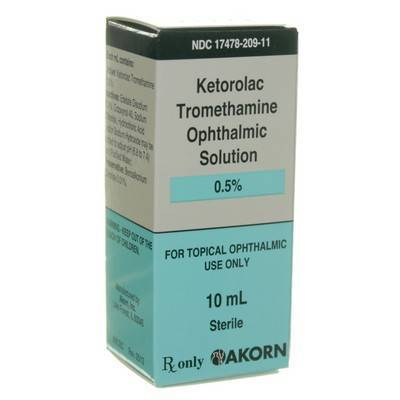 Ketorolac Tromethamine Eye Drops