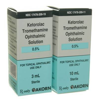 Ketorolac Tromethamine Eye Drops for Pets