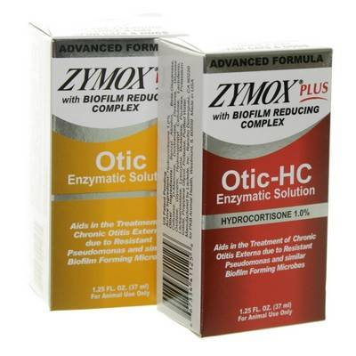 Zymox Plus Otic For Dogs And Cats Enzymatic Ear Solution