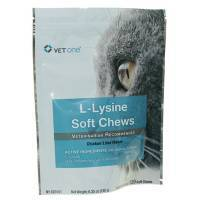 L-Lysine Soft Chews Approx 120 250mg