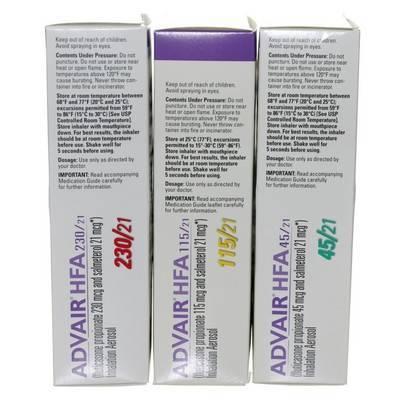 Advair (fluticasone/salmeterol) HFA Inhaler