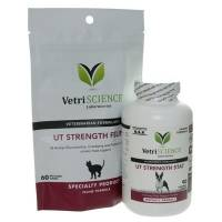 UT Strength has a Urinary Tract Support Formula for Dogs and Cats