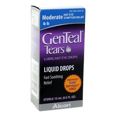 GenTeal Moderate Liquid Drops, 15mL