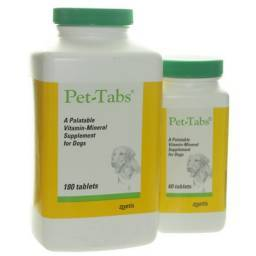 Pet-Tabs Vitamin-Mineral Supplement for Dogs