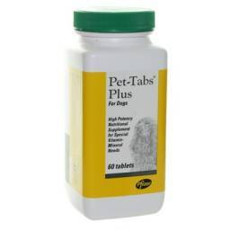 Pet-Tabs Plus for Dogs 60 Tablets