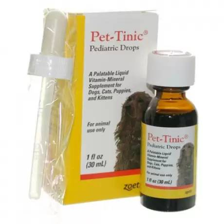 Pet-Tinic Drops for Dogs and Cats 1oz