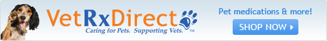 VetRx Direct. Caring for pets, supporting vets. Enjoy discounts on your pets medication.